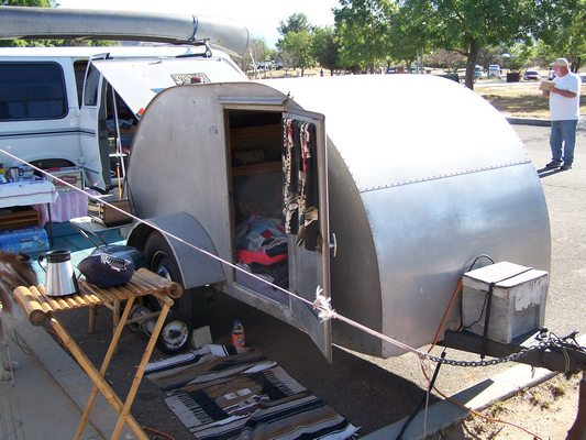 Dave & Terri's All Aluminum Trailer
